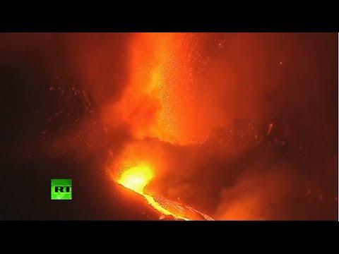 La Palma volcano continues to erupt