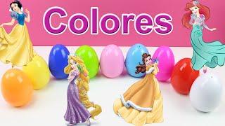 Aprender los colores en español con las Princesas Disney | Learn colors with Disney Princess