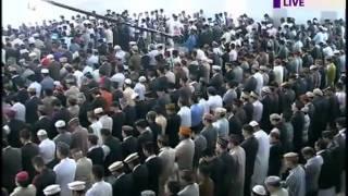 Namaz Eid-ul-Fitr - 2011 Lead By Ahmadiyya Khalifa.