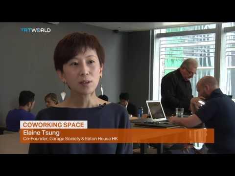 Money Talks: Coworking space in Hong Kong, Pamela Ambler reports