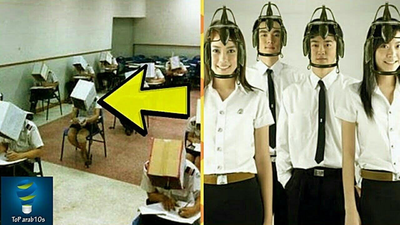 اغرب تقنيات مكافحة الغش في الامتحانات لن تصدق انها موجودة بالفعل..!!