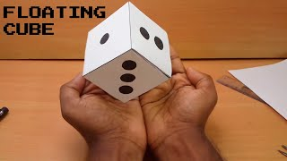 Floating Cube illusion-How to make DIY