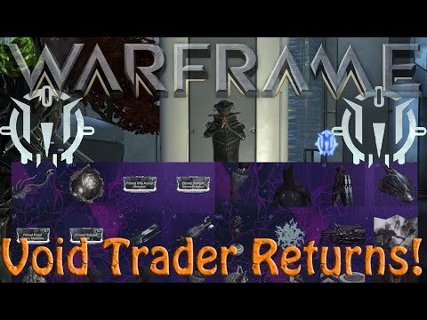 Warframe - Void Traders Returned! 107th Rotation thumbnail