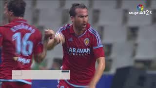Video Gol Pertandingan Real Oviedo vs Real Zaragoza