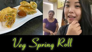 Easy Spring Roll Sheets | Veg Spring Roll