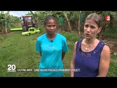Reportage France 2 sur l'importance de l'investissement Girardin en Guadeloupe