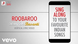 Rang De Basanti | Official Vertical Lyric Video | 13 Years Celebration