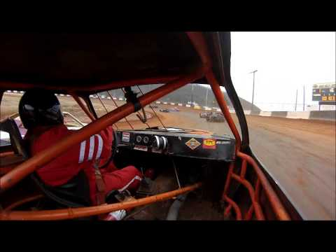 #62 Preston Davis - Heat Race Green Valley Speedway - with wreck footage