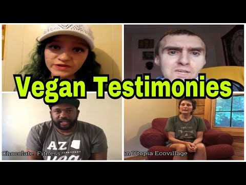 VEGAN COLLAB WHY WE ARE VEGAN (VEGAN TESTIMONIES)