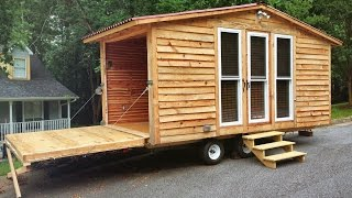 Video Fold-Down Wall Brings Outside In: Tiny House Tour download MP3, 3GP, MP4, WEBM, AVI, FLV Juni 2018