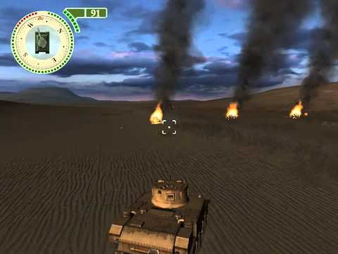 Tank Combat. Одиночная игра в стиле World of Tanks