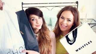 Clothes Haul with Tanya Burr | Zoella