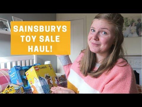 SAINSBURY'S TOY SALE HAUL   CHRISTMAS PRESENT IDEAS FOR KIDS!