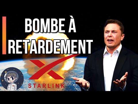 Starlink de SpaceX: Une bombe climatique à retardement ? -  Le Journal de l'Espace #91 - Actualités
