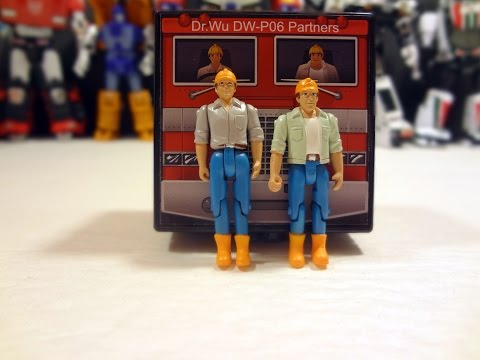 Transformers Spike and Sparkplug, Dr Wu DW-06 Partners
