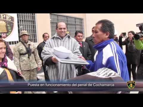 INPE pone en funcionamiento moderno penal de Cochamarca
