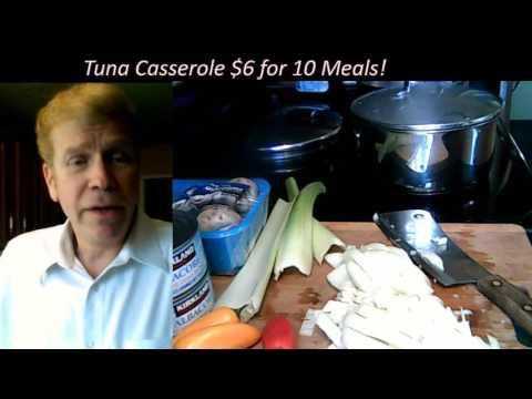 Tuna Casserole $6 for 10 meals! + bonus protein shake!