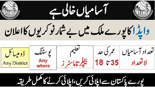 WAPDA Jobs 2020 - Latest Jobs in WAPDA | WAPDA Jobs 2020 in Pakistan | Jobs in WAPDA 2020 Latest