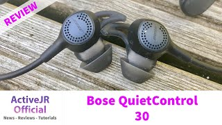Bose QuietControl 30 Review //Surprisingly good fitness earphones with noise cancelling