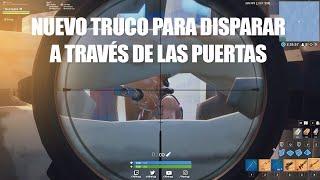 Nuevo TRUCO/BUG PARA DISPARAR A TRAVES DE LAS PUERTAS EN FORTNITE (ROTISIMO)