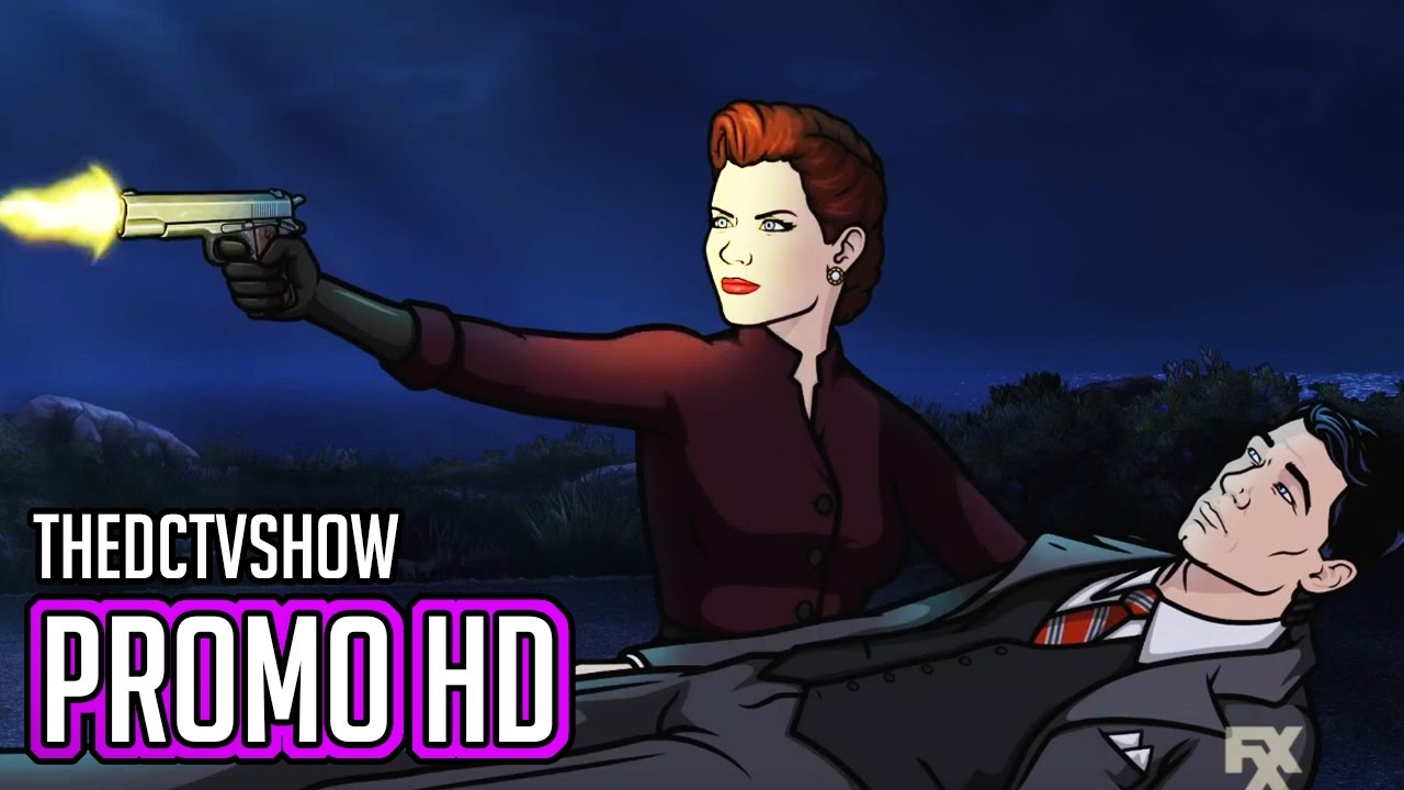 Archer 8x01 promo just say noir archer season 8 episode - Archer episodes youtube ...
