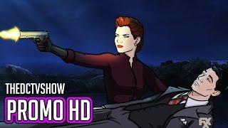 """Archer 8x01 Promo """"Just Say Noir"""" Archer Season 8 Episode 1 Preview"""