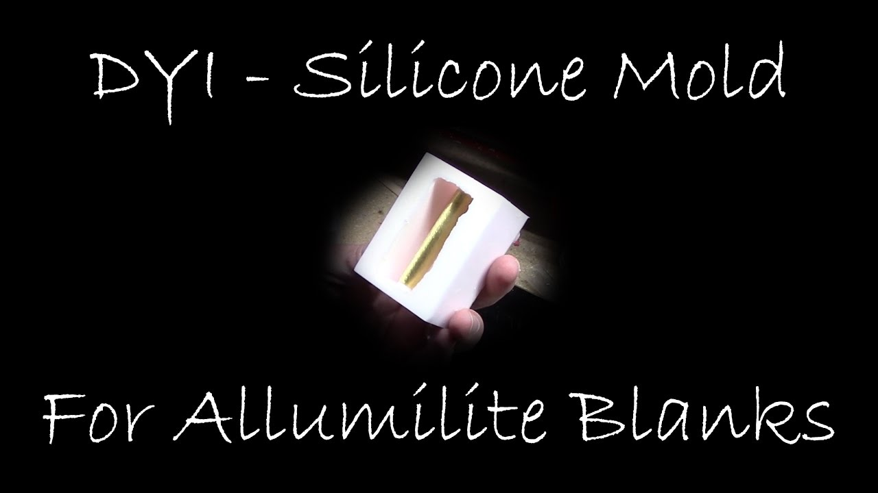 diy silicone mold for pen blanks youtube