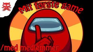 Mit første game - Dansk Among us