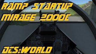 DCS:World » Ramp Startup » Mirage 2000C