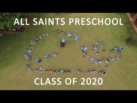 All Saints Preschool Graduation 2020
