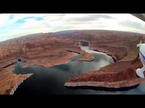 Page to Bullfrog Flight over Lake Powell CTSW