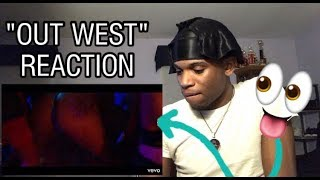 JACKBOYS & Travis Scott feat. Young Thug - OUT WEST (Official Music Video) REACTION !