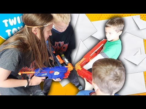 Nerf War:  Mail Time Mayhem 26