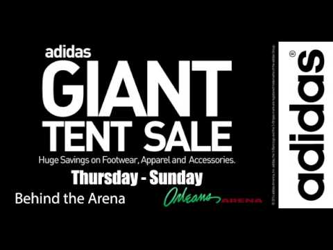 adidas giant tent sale schedule 2015