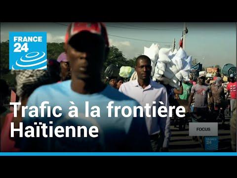Haïti : le pont de la rivière Massacre, point de passage de tous les trafics