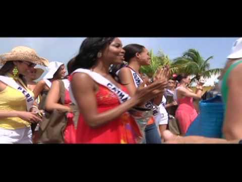 Miss Universe 2009 Gorgeous Models arrive to Bahamas - Part 3: Exuma