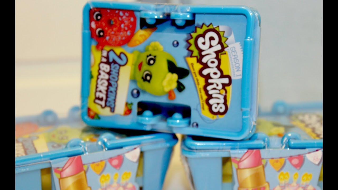 Toys R Us Food : Shopkins pack baskets season miniature food