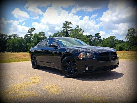 2014 Dodge Charger R T Blacktop Edition Review Youtube