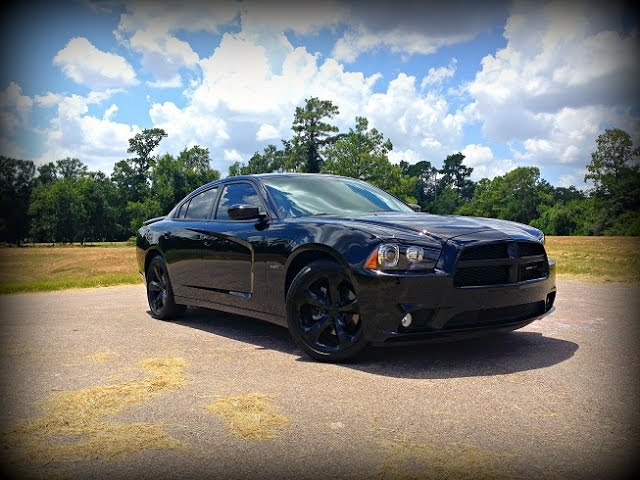 View 2014 Dodge Charger Rt Blacktop Edition Review
