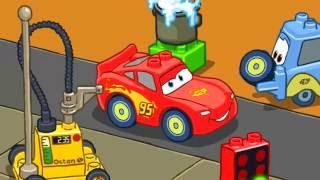 Машинки мультик.Тачки - МОЛНИЯ МАККУИН участвует в гонках. Lightning McQueen