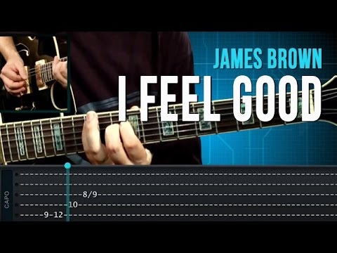 James Brown - I Feel Good - Aula de Guitarra
