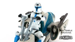 BARC Speeder Bike w/ Clone Trooper Jesse (Star Wars_ The Clone Wars) Deluxe Pack
