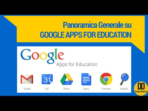 Google Apps for Education: panoramica generale (by DesignDid
