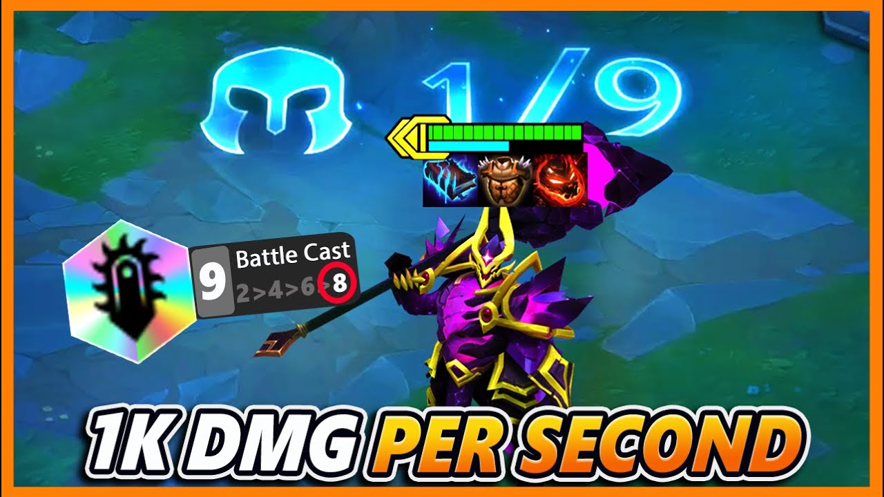 *9 BATTLECAST* This Teamcomp Breaks TFT - BunnyFuFuu | Teamfight Tactics