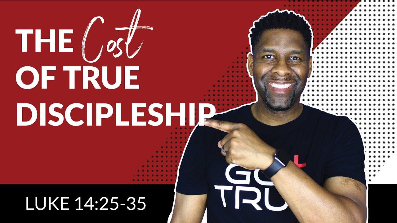 The Cost of True Discipleship   AUDIO SERMON