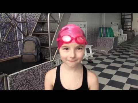 Лиза Крюкова 25 метров дельфин