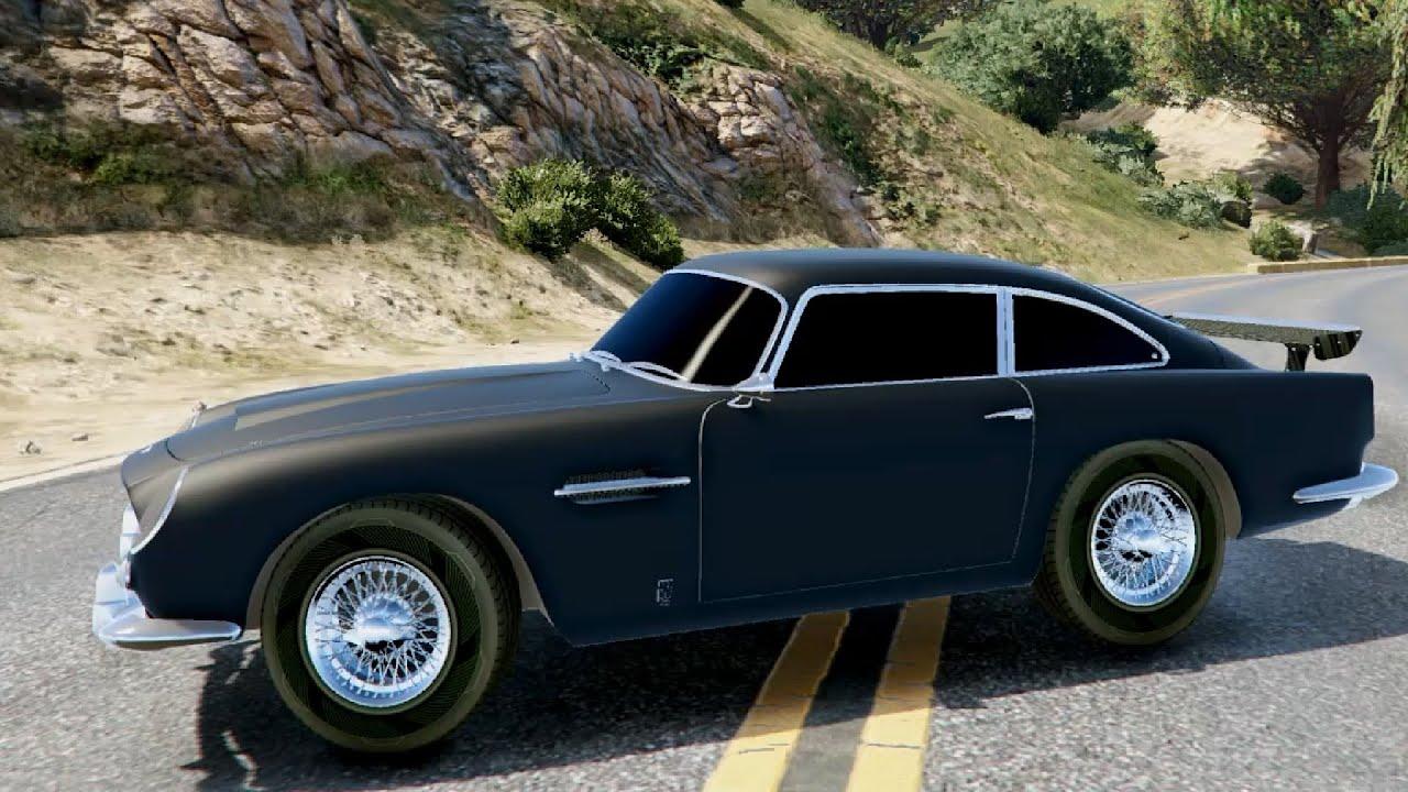 Aston Martin DB Vantage GTA V YouTube - 1965 aston martin db5