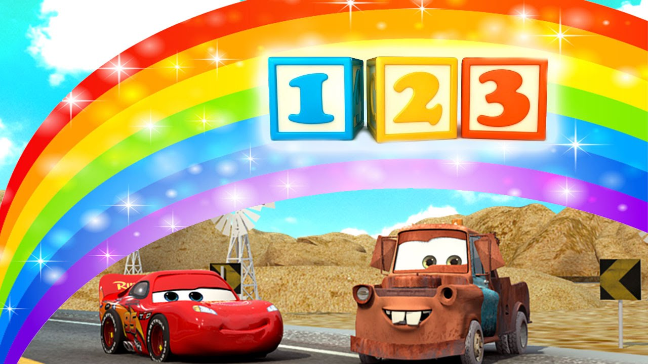 count numbers 1 to 20 song with lightning mcqueen from cars toys 123 number song 4k. Black Bedroom Furniture Sets. Home Design Ideas