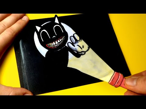 5 Amazing Cartoon Cat Paper Craft and Doodles for FANS