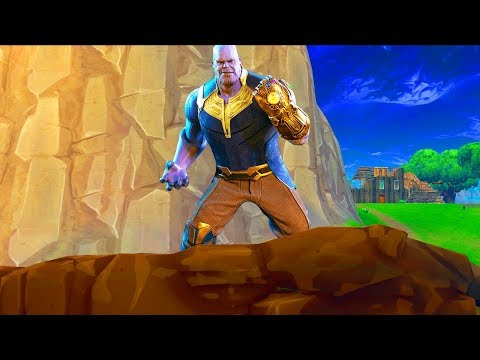how to make thanos gauntlet fortnite